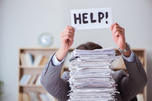 la gestione manuale e cartacea non è scalabile